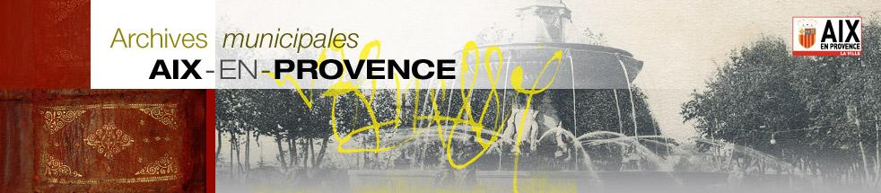Archives Municipales d'Aix-en-Provence